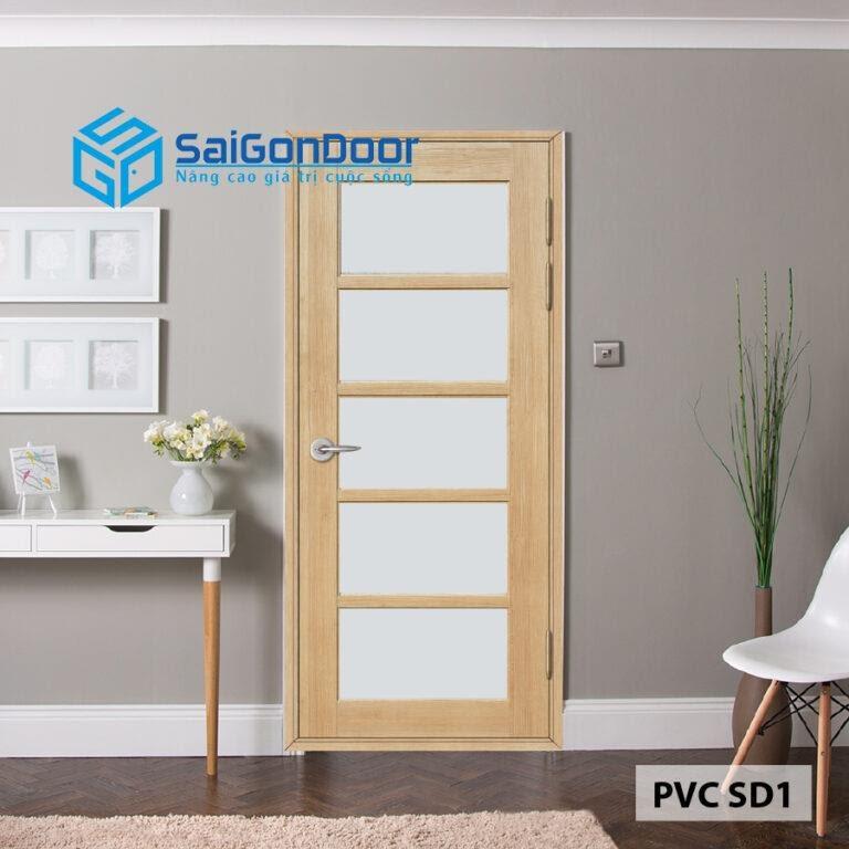 SaiGonDoor có đa dạng mẫu cửa nhựa Hàn Quốc